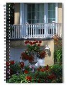 Balcony 3 Spiral Notebook