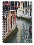 Balcony And The Gondola Spiral Notebook