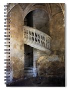 Balcony At Les Invalides Paris Spiral Notebook