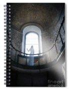 Balcony Ghost Spiral Notebook