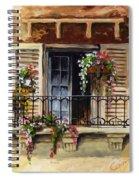 Balcony Of Ferrara Spiral Notebook