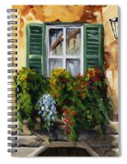 Balcony Of Napoly Spiral Notebook