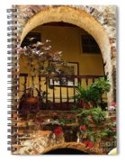 Balcony St Lucia Spiral Notebook
