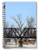 Bald Eagle Near Ludwig Mill Spiral Notebook