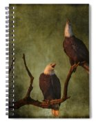 Bald Eagle Serenade Spiral Notebook