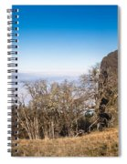 Bald Hills Vista Panorama Spiral Notebook