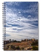 Bald Rock Glacial Erratics Spiral Notebook
