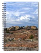 Bald Rock Panorama Spiral Notebook
