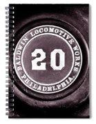 Baldwin 20 - Toned Spiral Notebook