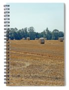Bales Of Hay Spiral Notebook