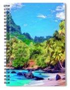Bali Hai Spiral Notebook