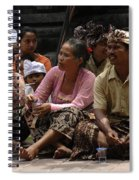 Bali Indonesia Proud People 3 Spiral Notebook