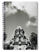 Bali Temple Spiral Notebook