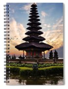 Bali Water Temple 2 Spiral Notebook