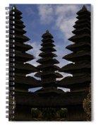 Bali Water Temple Spiral Notebook