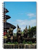 Bali Wayer Temple Spiral Notebook
