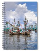 Balinese Fishing Boats Spiral Notebook