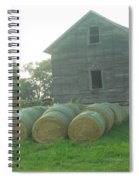 Baling Out Spiral Notebook