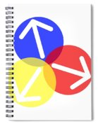Ball Arrows Spiral Notebook