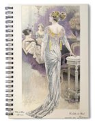Ball Gown Spiral Notebook
