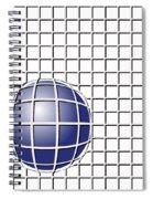 Ball In The Net Spiral Notebook