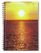Ball Of Fire Spiral Notebook