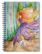 Ballerina Curtain Call Spiral Notebook