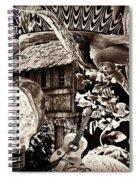 Ballerina Dreams Spiral Notebook