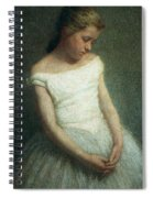 Ballerina Female Dancer Spiral Notebook