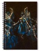 Ballerina Ghosts Spiral Notebook