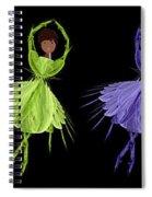 Ballerina Rainbow 2 Spiral Notebook
