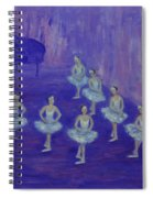Ballerina Rehearsal Spiral Notebook