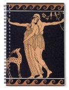 Ballet Scene With Tamara Karsavina Spiral Notebook