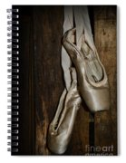 Ballet Shoes Spiral Notebook