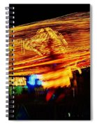 Ballons Ride At Night Spiral Notebook