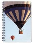 Balloon-2shotwave-7393 Spiral Notebook