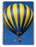 Balloon And The Moon Spiral Notebook