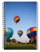 Balloon Festival Panels Spiral Notebook