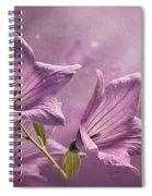 Balloon Flowers Spiral Notebook