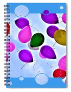Balloon Frenzy Spiral Notebook