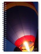 Balloon-glowpurple-7710 Spiral Notebook