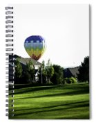 Balloon House Spiral Notebook