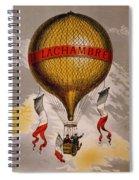 Balloon Spiral Notebook