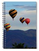 Balloon Rise Spiral Notebook