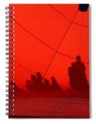 Balloon Shadows Spiral Notebook