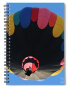 Balloon Square 1 Spiral Notebook