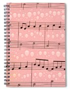 Balloons And Music Spiral Notebook