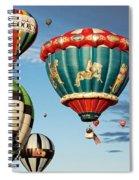 Balloons Away Spiral Notebook