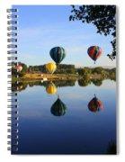Balloons Heading East Spiral Notebook