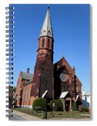 Ballston Spa Church Spiral Notebook